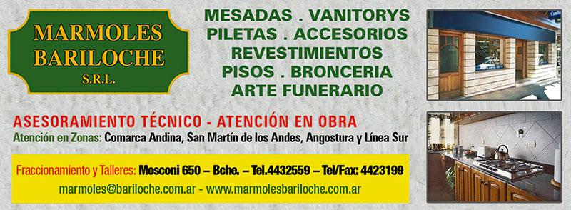 Marmoles Bariloche, Broncería