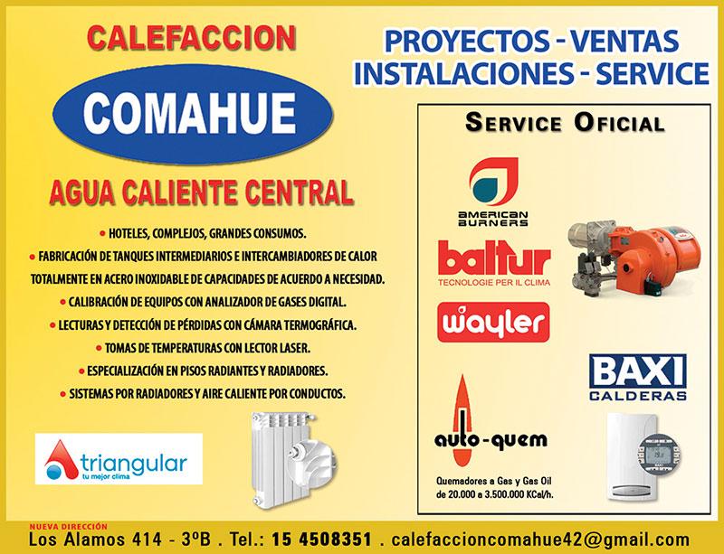 Calefaccion Comahue