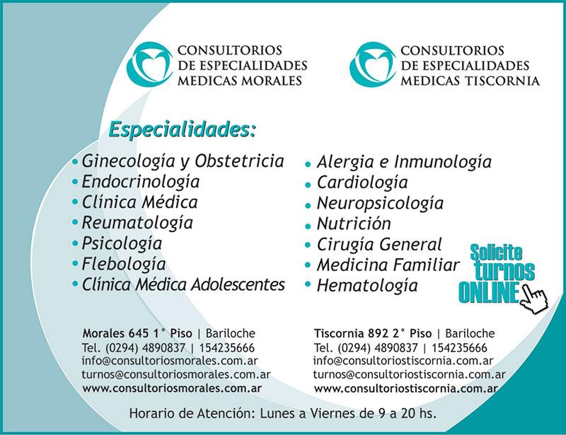 Consultorios de especialidades medicas morales