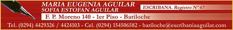 Escribania Aguilar Maria Eugenia