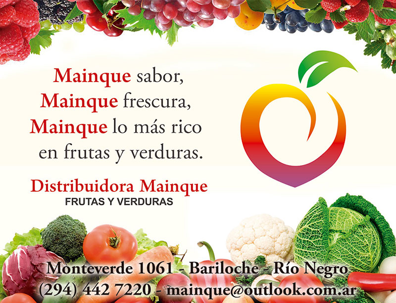 Mainque, Frutas, Verduras y Vinos