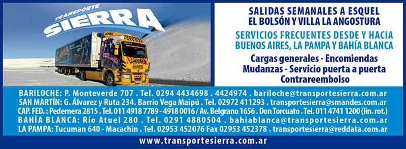 Transporte sierra