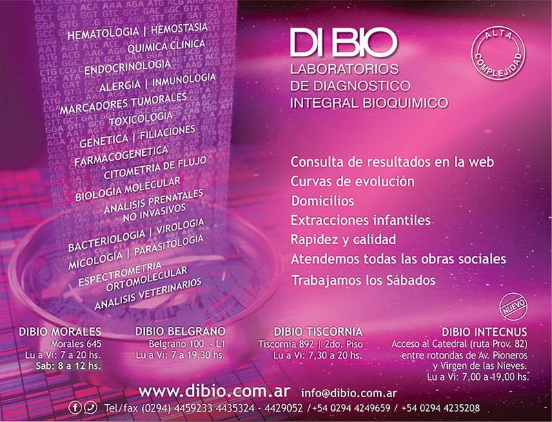 Dibio,  laboratorio de diagnostico integral bioquimico