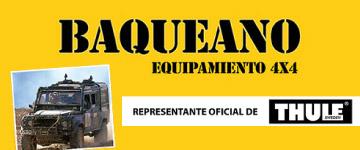 BAQUEANO, Equipamiento 4 x 4 y accesorios