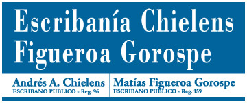 Escribania Chielens, Figueroa Gorospe
