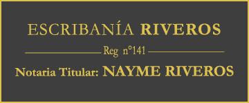 Escribania Riveros